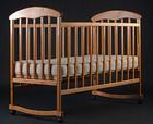 Детская кроватка Наталка Ольха светлая
