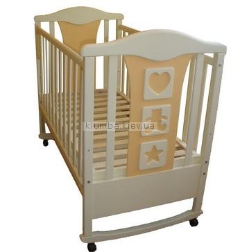 Детская кроватка Perla Teddy