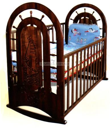 Детская кроватка Веселка Фрегат (без ящика)