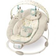 Детское кресло-качеля Bright Starts Comfort & Harmony Cradling Bouncer, Biscotti Fashion (6907)