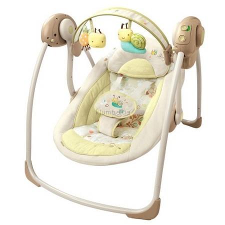 Детское кресло-качеля Bright Starts InGenuity Portable Swing (6909) (Забота и нежность)