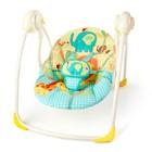 Детское кресло-качеля Bright Starts Sunnyside Safari Portable Swing (7117) «Солнечное сафари»