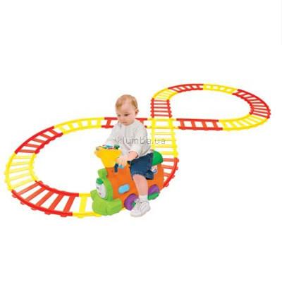 Детская машинка Kiddieland Паровоз на железной дороге