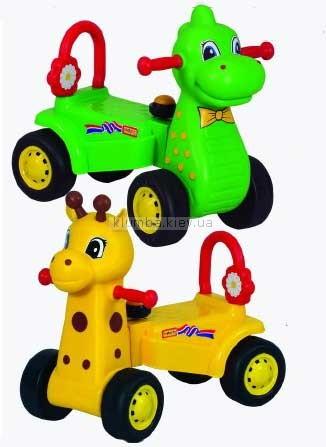 Детская машинка Pilsan Динозавр и Жираф