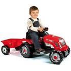 Детская машинка Smoby Трактор GM Bull с прицепом