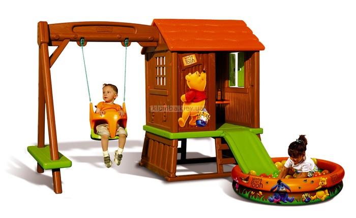 Детская площадка Smoby Большой комплекс Winnie