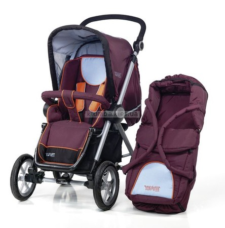 Детская коляска Traxx Cruiser inklusive Carrycot 2 in 1