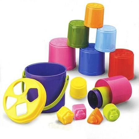 Детская игрушка BabyBaby Набор сортирующих формочек