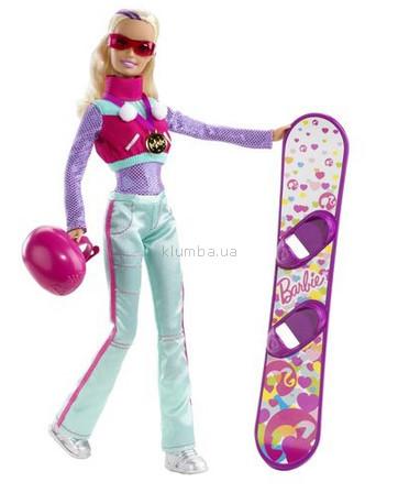 Детская игрушка Barbie Барби Сноубордистка