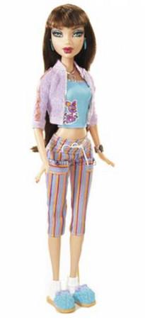 Детская игрушка Barbie Деленси, Пижамная вечеринка