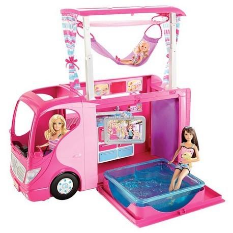 Детская игрушка Barbie Интерактивный кемпинг для сестер Barbie
