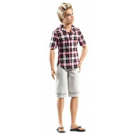 Детская игрушка Barbie Кен блондин в шортах