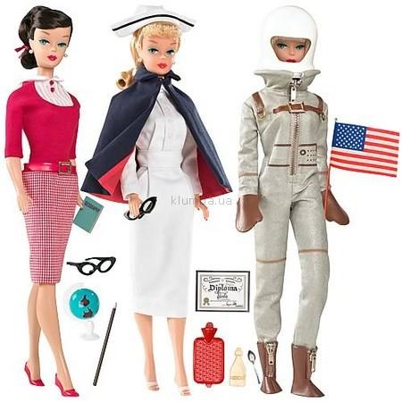 Детская игрушка Barbie Учитель, Медсестра и Мисс-космонавт