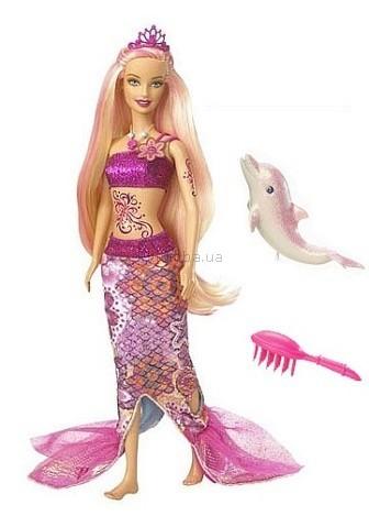 Детская игрушка Barbie Мерлиа  Мир русалок