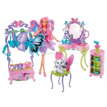 Детская игрушка Barbie Уголок для создания макияжа Марипоза