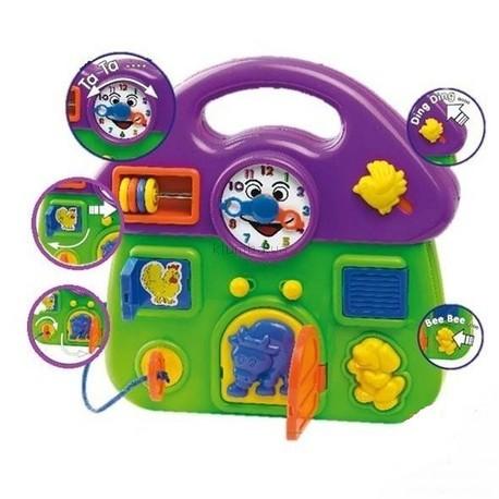 Детская игрушка BeBeLino Домик с часами
