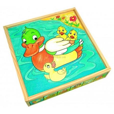 Детская игрушка Bino Кубики Животные