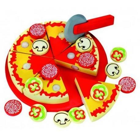 Детская игрушка Bino Пицца нарезная