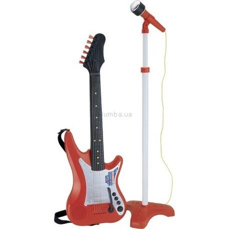 Детская игрушка Bontempi Электронная гитара с микрофоном