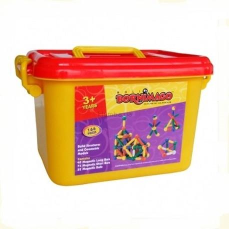 Детская игрушка Bornimago Магнитный конструктор (166 деталей)