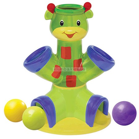 Детская игрушка Bright Starts Drop & Giggle (Музыкальный жираф с мячами)