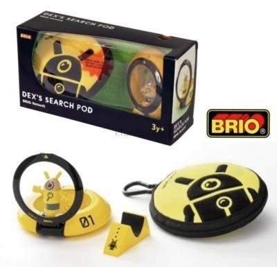 Детская игрушка Brio Шеф-детектив Dex с поисковой лупой