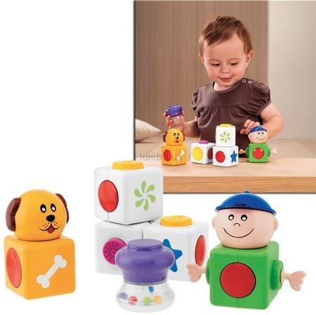 Детская игрушка Chicco Конструктор Первая активность