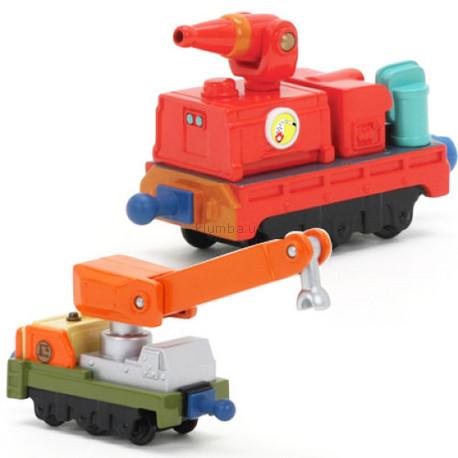 Детская игрушка Chuggington Спасательные вагоны