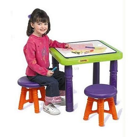 Детская игрушка Crayola Стол с 2 стульчиками
