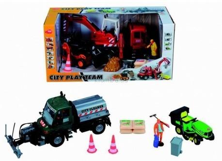 Детская игрушка Dickie Набор Дорожные работы