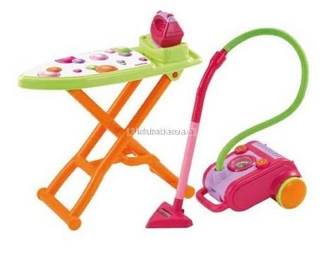 Детская игрушка Ecoiffier (Smoby) Гладильная доска + утюг + пылесос