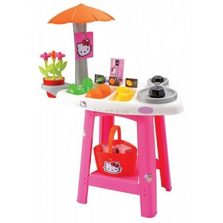 Детская игрушка Ecoiffier (Smoby) Овощной киоск Hello Kitty