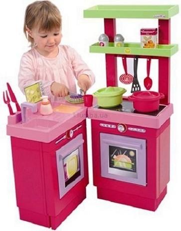 Детская игрушка Ecoiffier (Smoby) Раскладывающаяся кухня с аксессуарами