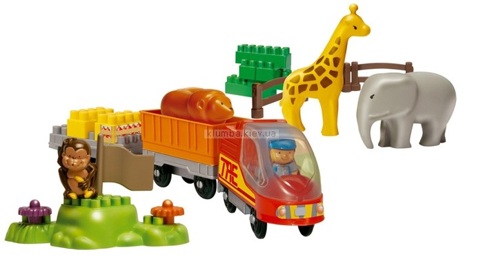 Детская игрушка Ecoiffier (Smoby) Паровозик в зоопарке, Abrick