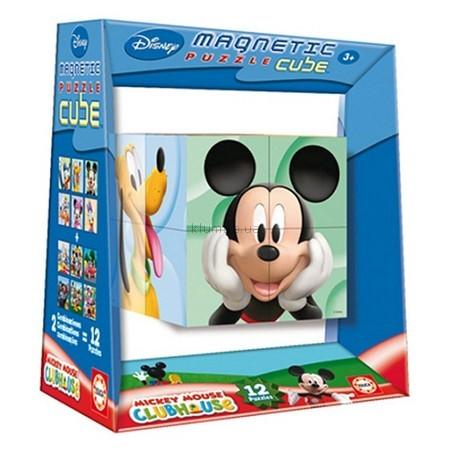 Детская игрушка Educa Магнитный пазл-куб Микки-Маус Клуб