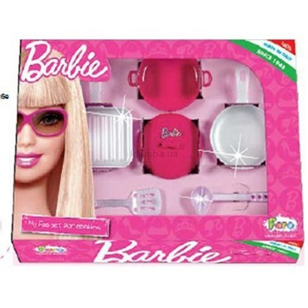 Детская игрушка Faro Набор посуды  Барби столовый