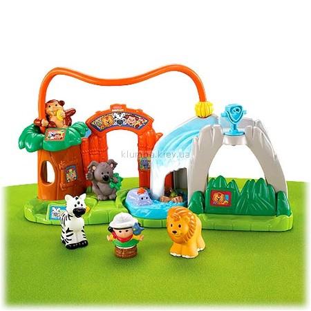 Детская игрушка Fisher Price Маленькие человечки, Зоопарк