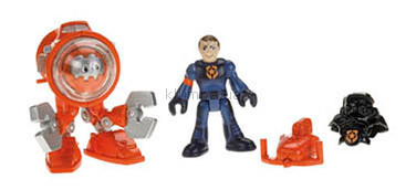 Детская игрушка Fisher Price Imaginext Robot Police, фигурки героев