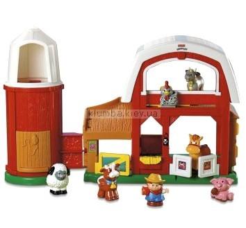 Детская игрушка Fisher Price Маленькие человечки. Ферма