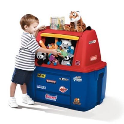 Детская игрушка Halabuda Ящик для игрушек Маленький гонщик