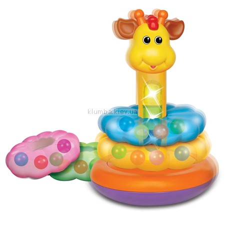Детская игрушка Kiddieland Пирамидка Жираф