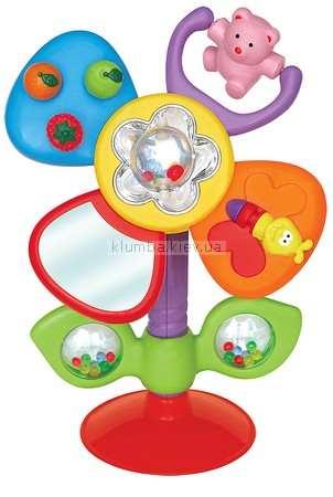 Детская игрушка Kiddieland Цветок, на присоске