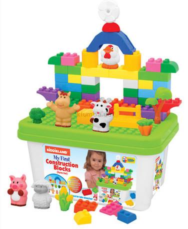 Детская игрушка Kiddieland Набор из блоков Ферма