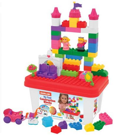 Детская игрушка Kiddieland Набор из блоков Замок