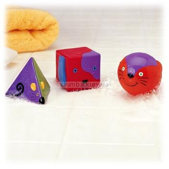 Детская игрушка K's Kids Виниловые геометрические фигуры для ванной