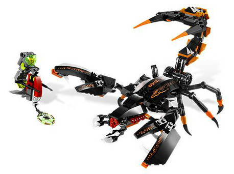 Детская игрушка Lego Atlantis Глубоководный боец (8076)