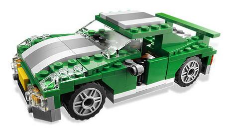 Детская игрушка Lego Creator Городские гонки (6743)