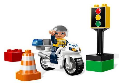 Детская игрушка Lego Полицейский мотоцикл (5679)