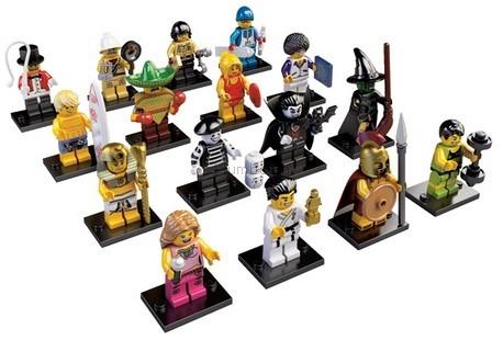 Детская игрушка Lego Минифигурки серия №2 (8684)