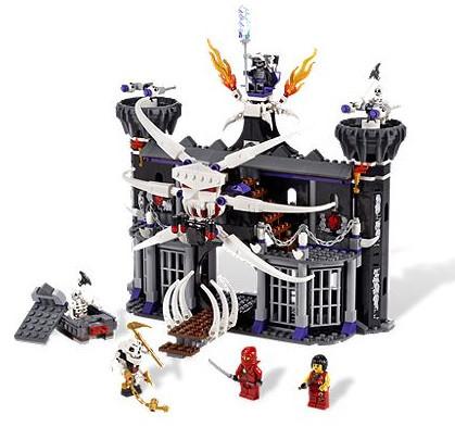 Детская игрушка Lego Ninjago Темная крепость Гармадона (2505)